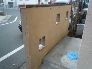 門塀(施工後)