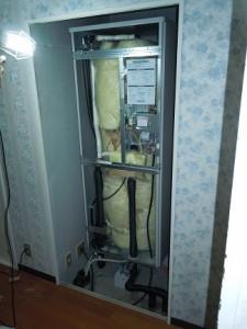 新しい温水器