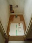 ガス床暖房(トイレ)